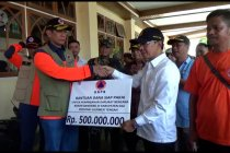 BNPB salurkan dana Rp500 juta untuk penanganan banjir Sigi