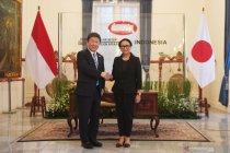 Menlu Indonesia-Jepang sepakati upaya atasi aksi kekerasan di Myanmar
