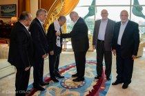 Mahathir menerima kunjungan pemimpin Hamas