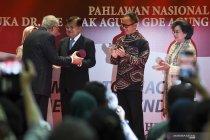 Jusuf Kalla terima anugerah atas kiprahnya dalam diplomasi