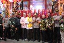 Wakapolda Lampung meninjau perayaan Imlek di Bandarlampung