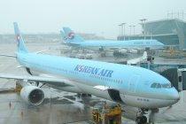 Pramugari Korean Air pengidap corona terbang rute Seoul-Los Angeles
