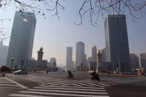 Kota Tianjin di China diblokade karena wabah virus corona