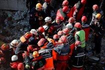 Jumlah korban meninggal akibat gempa Turki jadi 35
