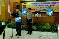 Wakapolda pimpin penandatanganan pakta integritas penerimaan SIPSS