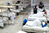 Pada Minggu kasus COVID-19 di China turun, namun jumlah kematian naik