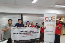Bantuan ribuan masker dikirimkan ACT ke mancanegara
