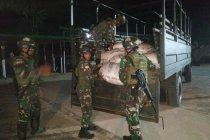 Satgas Pamtas gagalkan penyelundupan 1,5 ton gula di perbatasan