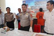 Polresta Manado tangkap satu tersangka dengan 32 paket sabu-sabu