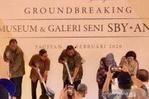 SBY memancangkan tiang pertama pembangunan museum di Pacitan