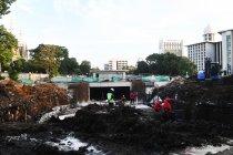 Pembangunan terowongan Istiqlal-Katedral