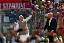 Trump mulai bicara perdagangan, kesepakatan senjata di India