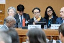 Menlu Retno bicara peran perempuan Indonesia dalam forum PBB di Jenewa