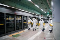 Korsel laporkan 594 infeksi baru corona