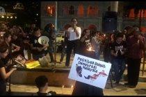 Unjuk rasa di Dataran Merdeka Kuala Lumpur