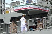 Ketika kapal perang Iran kali pertama singgah di Indonesia