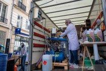 Prancis produksi cairan pembersih tangan 10 ribu liter per hari