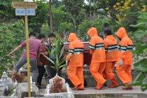 Pemakaman PDP COVID-19 di Medan