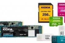 Kioxia Corporation umumkan peluncuran portofolio produk konsumen baru (kartu memori microSD/SD, memori USB dan SSD)