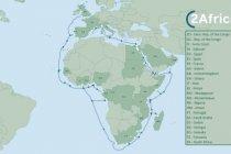 2Africa: Kabel bawah laut transformatif untuk konektivitas Internet masa depan di Afrika diumumkan oleh mitra global dan Afrika
