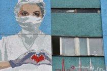 Ukraina catat  lonjakan tertinggi kasus corona