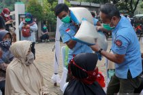 Kemarin ada hujan meteor, 10 juta peserta PKH dapat bantuan beras