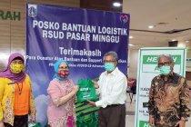 Lawan Covid-19, Kadin KT3-OKI gandeng diplomat Timteng serahkan donasi kepada RS di Jakarta
