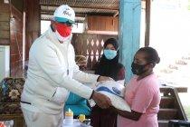 Kapolda dan Spirit of Papua berikan bantuan sembako ke warga Entrop