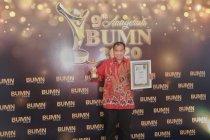 Di Anugerah BUMN 2020, Jasa Tirta II jadi perusahaan dengan Tranformasi Organisasi Terbaik