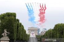 Parade militer peringatan Hari Bastille di Prancis