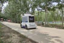 Dua kendaraan otonomos diuji coba di Tianjin, China