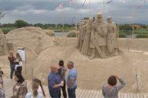 Kota di Latvia luncurkan taman patung pasir