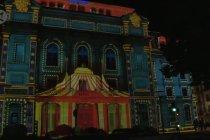 Semarak festival cahaya di kota bersejarah Auvergne, Prancis