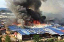 Rumah bedeng TKI di Negeri Sembilan terbakar