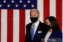 Penampilan perdana pasangan capres AS Joe Biden dan cawapres Kamala Harris