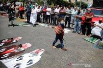 Warga Palestina protes normalisasi hubungan UEA dengan Israel