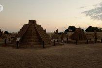 Festival Patung Pasir Internasional ke-15 dimulai di Antalya