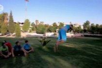 Mimpi tim parkour Suriah yang ingin mendunia