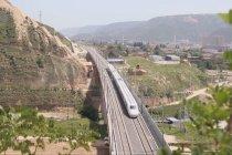 Jalur kereta cepat Yinchuan-Xi\'an masuki tahap pengujian