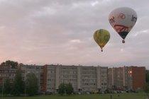 Latvia gelar festival balon udara