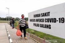RSKI Pulau Galang rawat inap 307 pasien terkonfirmasi positif COVID-19