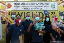 Pasien sembuh COVID-19 di Indonesia tambah 4.001, positif 5.533 orang