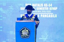 Universitas Pancasila telah luluskan 60.608 wisudawan terdidik