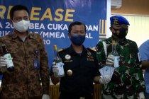 Bea Cukai Medan sita ribuan botol miras dari pabrik ilegal