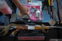 Pemusnahan barang bukti tindak pidana di Kota Bandung