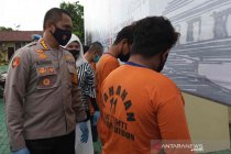 Polresta Cirebon tangkap dua anggota geng motor yang tembak warga