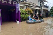 Ratusan rumah warga di Serang terendam banjir