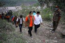 BNPB prioritaskan keselamatan warga korban erupsi Gunung Semeru