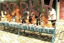 Bea Cukai Palangka Raya musnahkan barang ilegal senilai Rp 144 juta