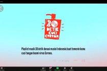 Lagu-lagu #20detikcucicorona, jadi soundtrack saat cuci tangan